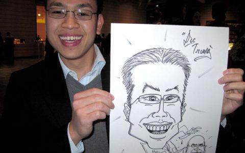 Caricature Artist near Raleigh, NC