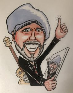 Bruce Stevenson Caricature